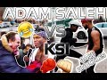 GETTING PUNCHED IN KSI vs ADAM SALEH