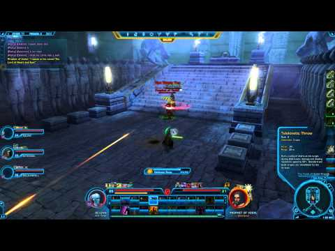 SWTOR Guide | Flashpoint: Athiss (4man) Republic Jedi Sage Play-through | Part #2