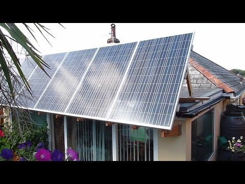 Build A Solar Panel Tilting / Adjustable Canopy A Frame Easy DIY Instructions / Complete Guide