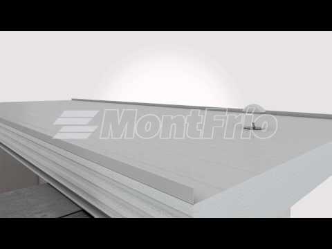 PANELES MONTFRIO - Cubierta Aislante Prefabricada