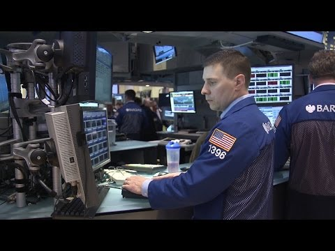 Dow Lower After IMF Warning, Ukraine Unrest