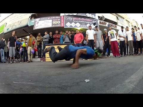 One from the New shows in Gaza City ( 2014 ) .... Parkour & Freerunning (HD.1080)