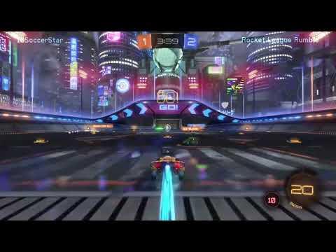 Rocket League Rumble Gameplay
