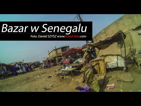 Travel - Market Senegal - Afryka