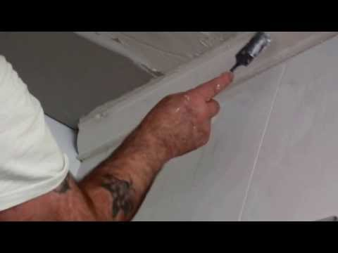 Cornice Installation in Bathroom