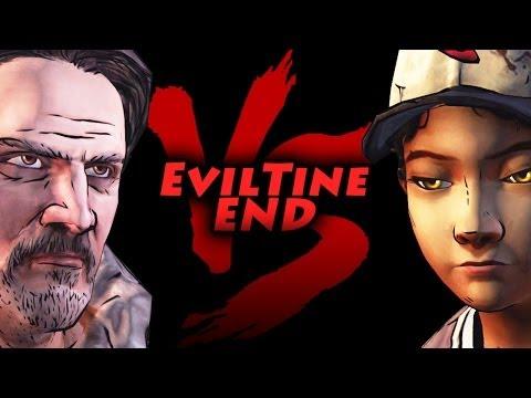 Walking Dead Season 2 Episode 3 Bad Choices Carver VS #Eviltine
