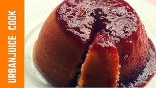 Strawberry Sponge Steamed Pudding