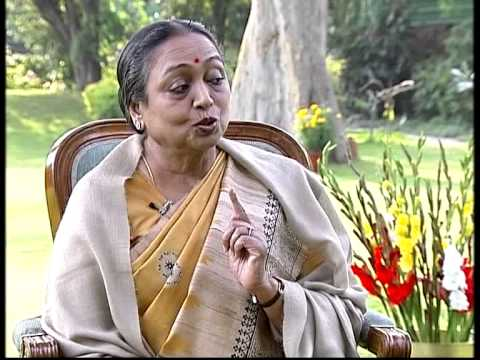 Special Interview with Meira Kumar (Part-1)