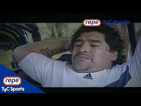 Diego Maradona en Sin Cassette opinó sobre Bilardo, Menotti y Basile