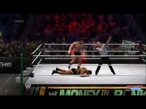 WWE Money In The Bank 2014 Big E vs Rusev Result!