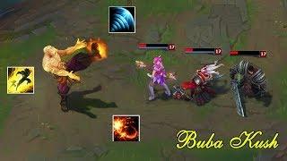 Bubba Kush - Người Chơi Leesin Hoa Mỹ Nhất Liên Minh Huyền Thoại | Best of Bubba Kush 2017