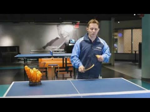 how to serve in table tennis videos