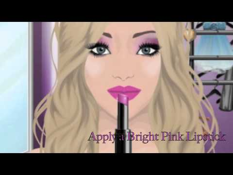"Stardoll Make-Up Tutorial- ""Barbie Loves Mac"" Inspired Looks (2 in 1) (#108)      - YouTube"