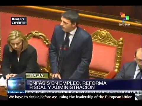 Renzi wins Italian senate backing for his coalition government