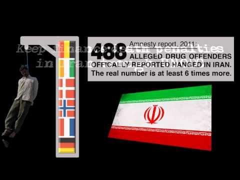 IRAN: say NO to DRUGS & say NO to HANGINGS