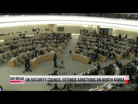 UN Security Council extends sanctions on North Korea