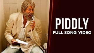 Piddly Official Full Song Video Movie Shamitabh Amitabh Bachchan