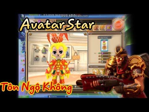 Hướng dẫn tạo Avatar Star Ngộ Không ( full )