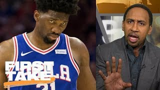 Stephen A. Smith slams the Philadelphia 76ers for its 'Trust The Process' | First Take | ESPN