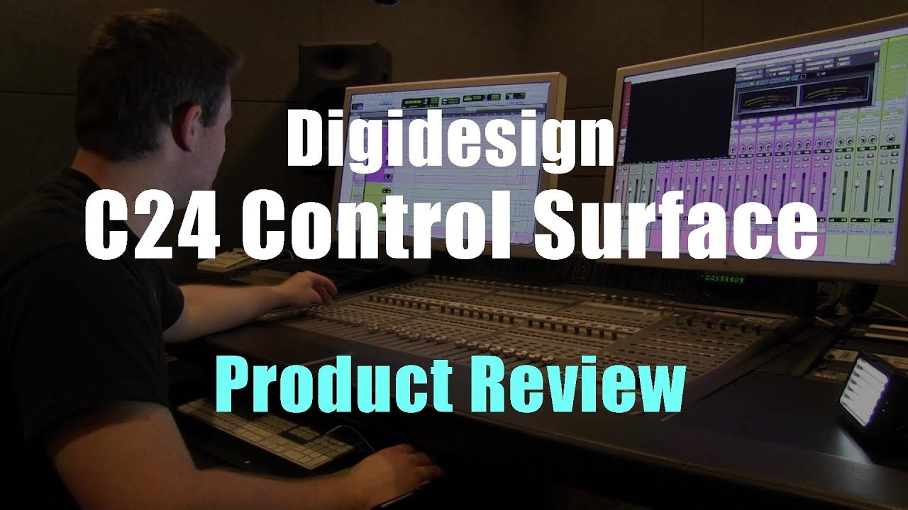 Digidesign c24 studio controller product review youtube