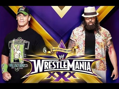 WrestleMania XXX Tale of the Tape: John Cena vs. Bray Wyatt