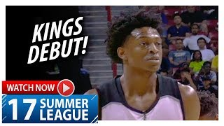 De'Aaron Fox Full Kings Debut Highlights vs Suns (2017.07.07) Summer League - 18 Pts, 5 Stls, SICK!