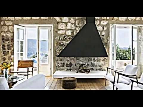 attraktive wandgestaltung im wohnzimmer wand in steinoptik verkleiden youtube. Black Bedroom Furniture Sets. Home Design Ideas