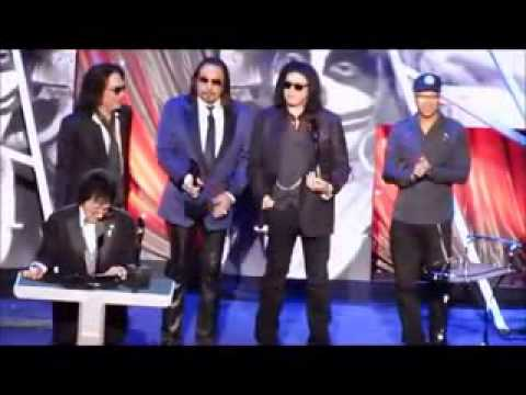 KISS -  Rock  Roll Hall of Fame 2014.