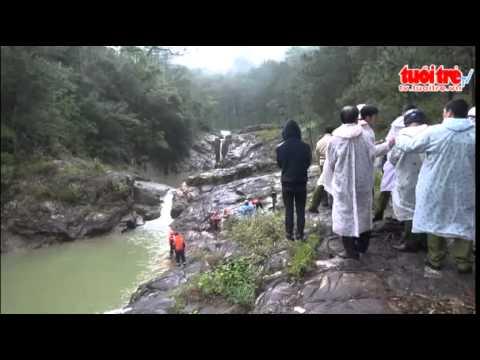 Đi ngắm cảnh, 3 bạn trẻ chết đuối tại suối vàng – Lâm Đồng