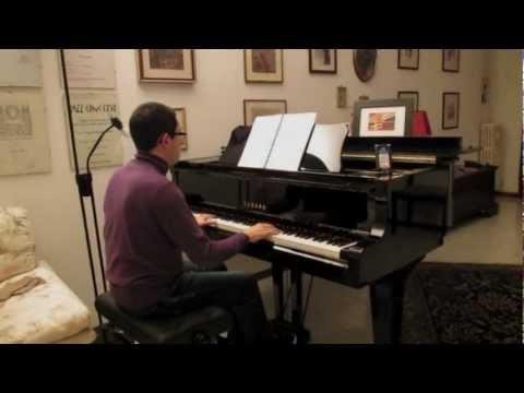 Sergio Endrigo - Io che amo solo te (piano solo arrangement by Luca Moscardi)