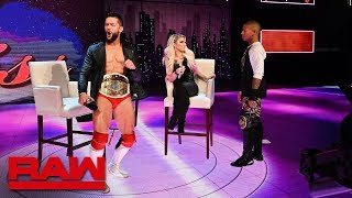 "Finn Bálor accepts Lio Rush's Intercontinental Championship ""challenge"": Raw, Feb. 25, 2019"