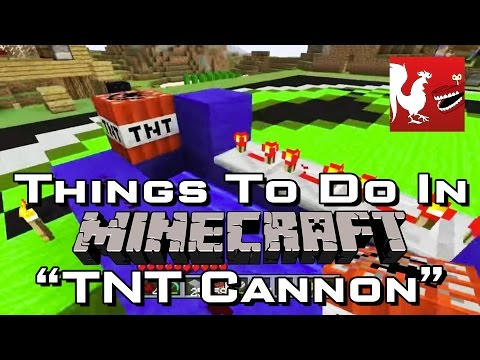 Things to do in: Minecraft - TNT Cannon