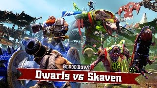 BLOOD BOWL 2 - Dwarfs vs Skaven - Gameplay