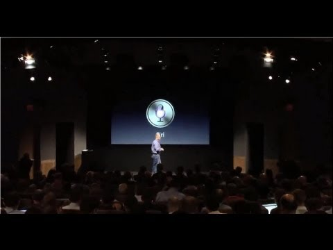 Apple Special Event 2011 - Siri Introduction
