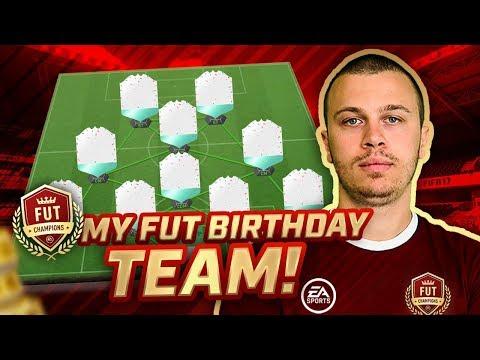 USING an AMAZING FUT BIRTHDAY TEAM in FUT CHAMPIONS! FIFA 18 ULTIMATE TEAM