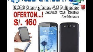 Celular Chino Galaxy S3 I9300 Doble Chip Tv Wifi No
