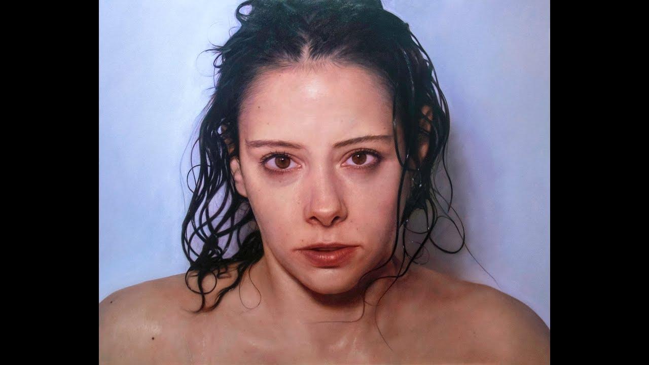 Retrato n mero 5 leo sobre tabla 118x144cm youtube - Retrato oleo paso a paso ...