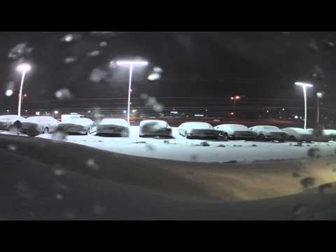 Winter Storm Time Lapse 2/20/14 Minneapolis, MN | Morrie's Mazda