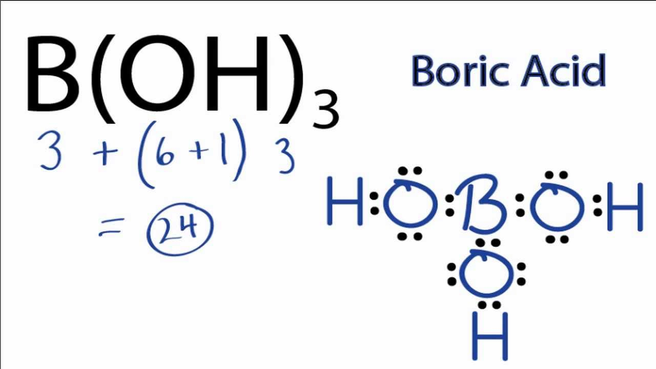 N2 Lewis Structure As you can see Boron shares 6