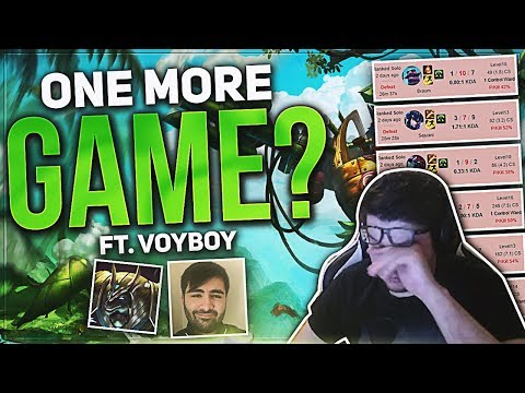 DYRUS - ONE MORE GAME!!! ft Voyboy