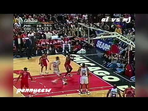 Flashback: Allen Iverson vs Michael Jordan (1997) HQ