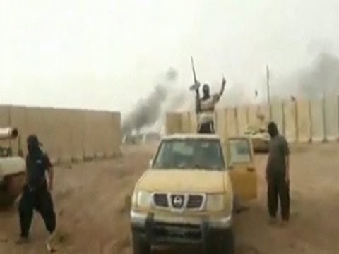 Raw: Militants Seize Former US Base in Tikrit