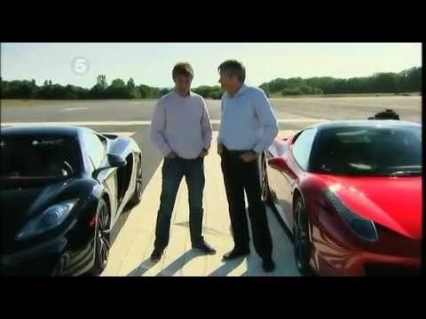 Fifth Gear - McLaren MP4-12c vs Ferrari 458 Italia