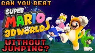 VG Myths - Can You Beat Super Mario 3D World Without Jumping?