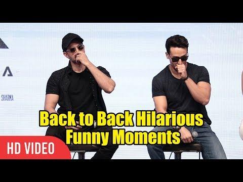 WAR Back to Back Hilarious Funny Moments | Hrithik Roshan, Tiger Shroff And Vaani Kapoor