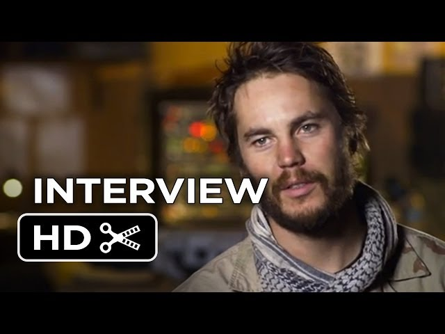 Lone Survivor Interview - Taylor Kitsch (2013) - Navy seals Movie HD