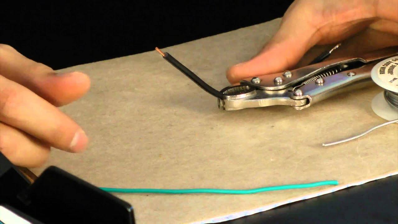 rc solder how to safety tips youtube. Black Bedroom Furniture Sets. Home Design Ideas
