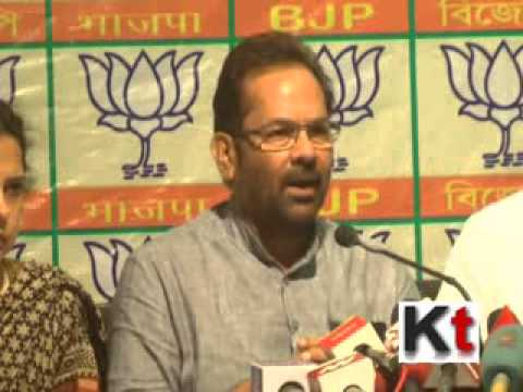West Bengal is the only state witnessing post election violence-  BJP leader Mukhtar Abbas Naqvi