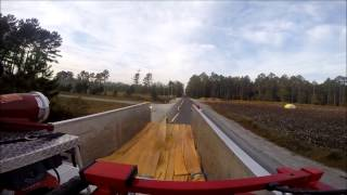 Rincon Fire Dept 6,000ft. Hose Lay Using TurboDrafts