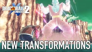 Dragon Ball Xenoverse 2 - New Transformations